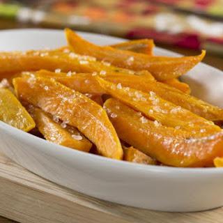 Roasted Sweet Potato Sticks Recipe