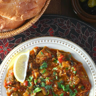 Moroccan Eggplant Salad (Zaalouk) Recipe