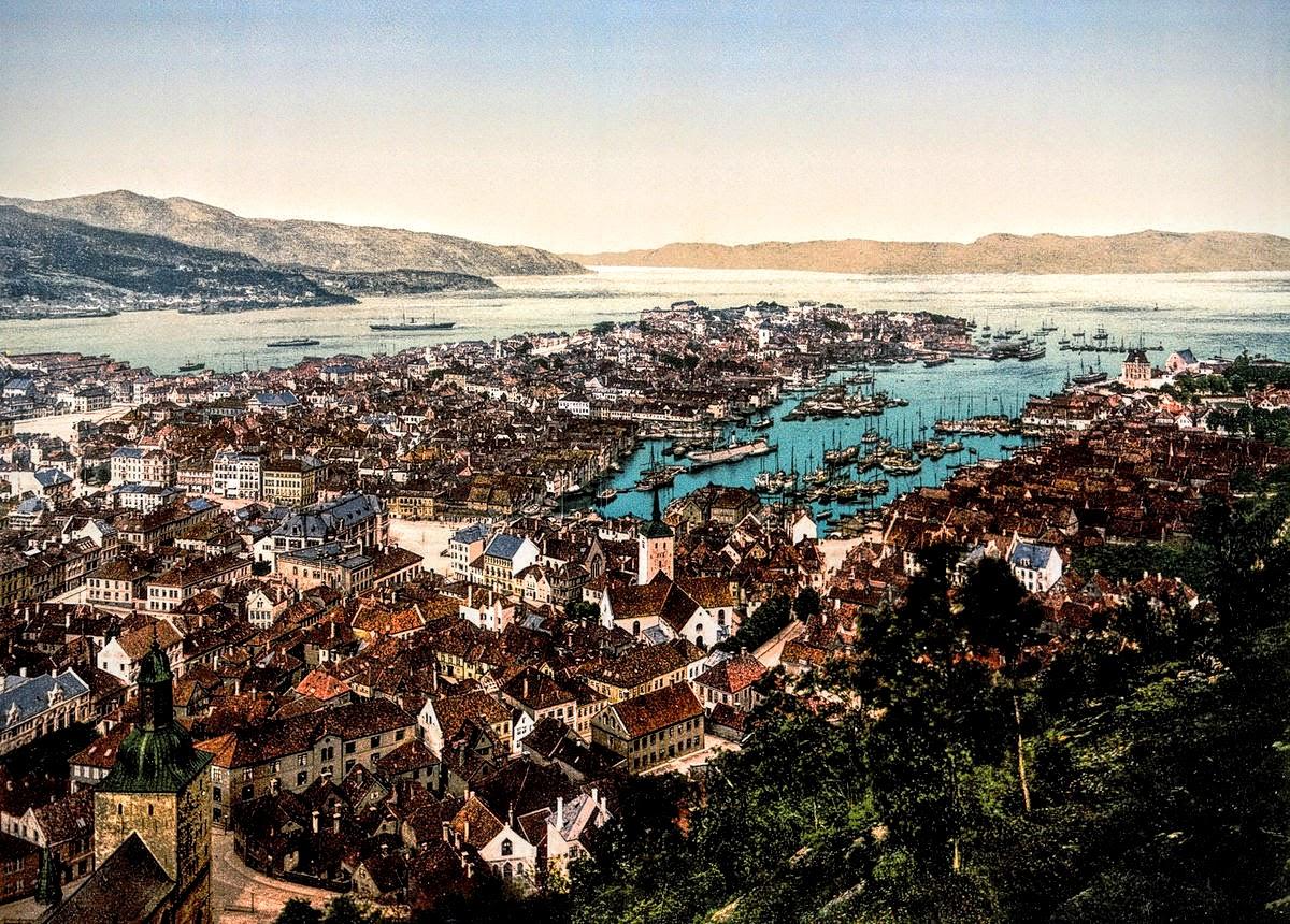 Bergen, Norway, c. 1890s.