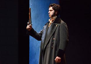 Photo: Wiener Kammeroper: EUGEN ONEGIN. Inszenierung; Ted Huffman. Premiere 2. Oktober 2014. Tobias Greenhalgh. Foto: Barbara Zeininger