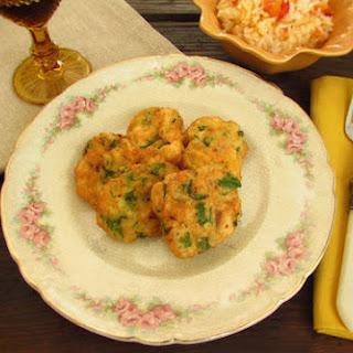 Fish 'pataniscas' (fried Fish)