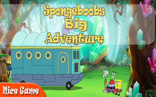 SpongeBobs Big Adventure game - náhled