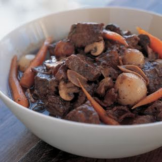 Beef Stew With Bacon Mushrooms And Pearl Onions Recipes