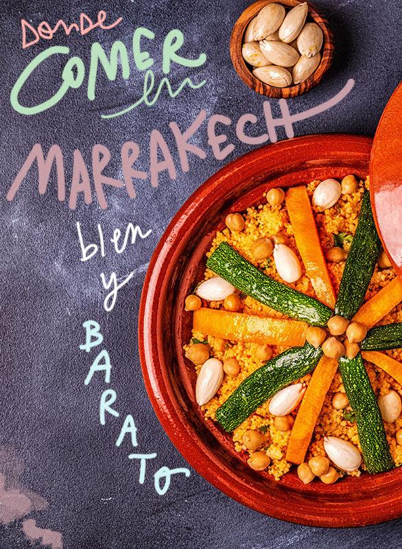 restaurantes donde comer en Marrakech