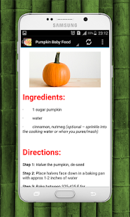 Baby food recipes apps on google play screenshot image forumfinder Choice Image