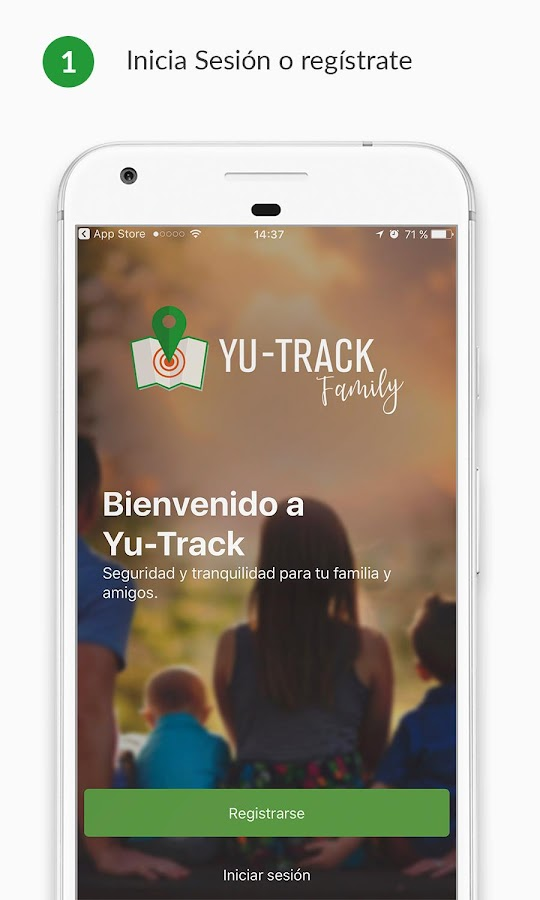 Yu-Track Family: captura de pantalla