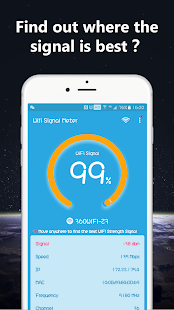 WiFi Signal Strength Meter Pro(No Ads) Screenshot