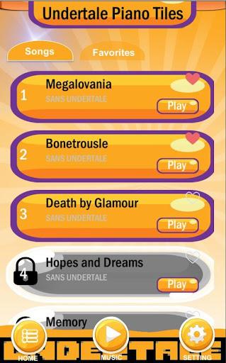 Megalovania Piano Tiles - Undertale 💀 screenshot 2