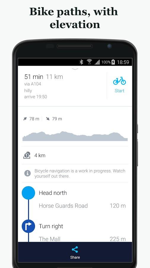 Screenshots of HERE WeGo - City Navigation for iPhone