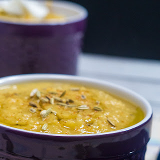 Roasted Cauliflower and Parsnip Soup Recipe