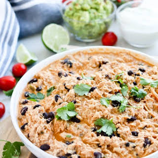 Instant Pot Mexican Inspired Healthy Crack Chicken.