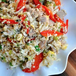 Tuna Stir Fried Rice.
