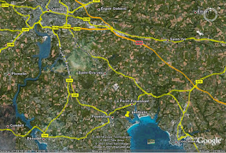 Photo: Localisation par Google Earth