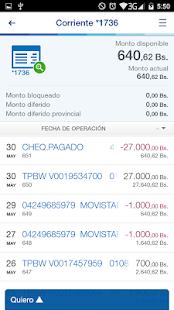 BBVA Provinet Móvil apk screenshot 3