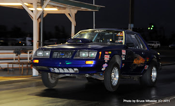 """Photo: Robert Mikae's """"NightMare"""" Mustang. (This car was formerly a Maui County Police """"interceptor."""")"""