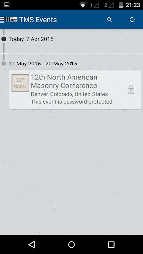 The Masonry Society Events