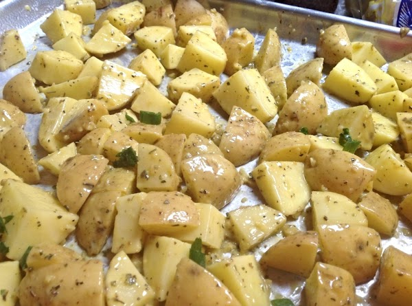 Pour mustard mixture over potatoes and toss to combine. Sprinkle with chopped chive if...