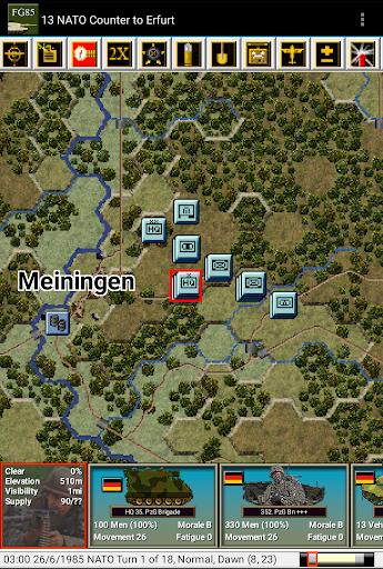 Modern Campaigns- FuldaGap '85