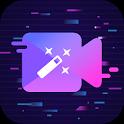 Glitch video effect - Photo, video editor icon