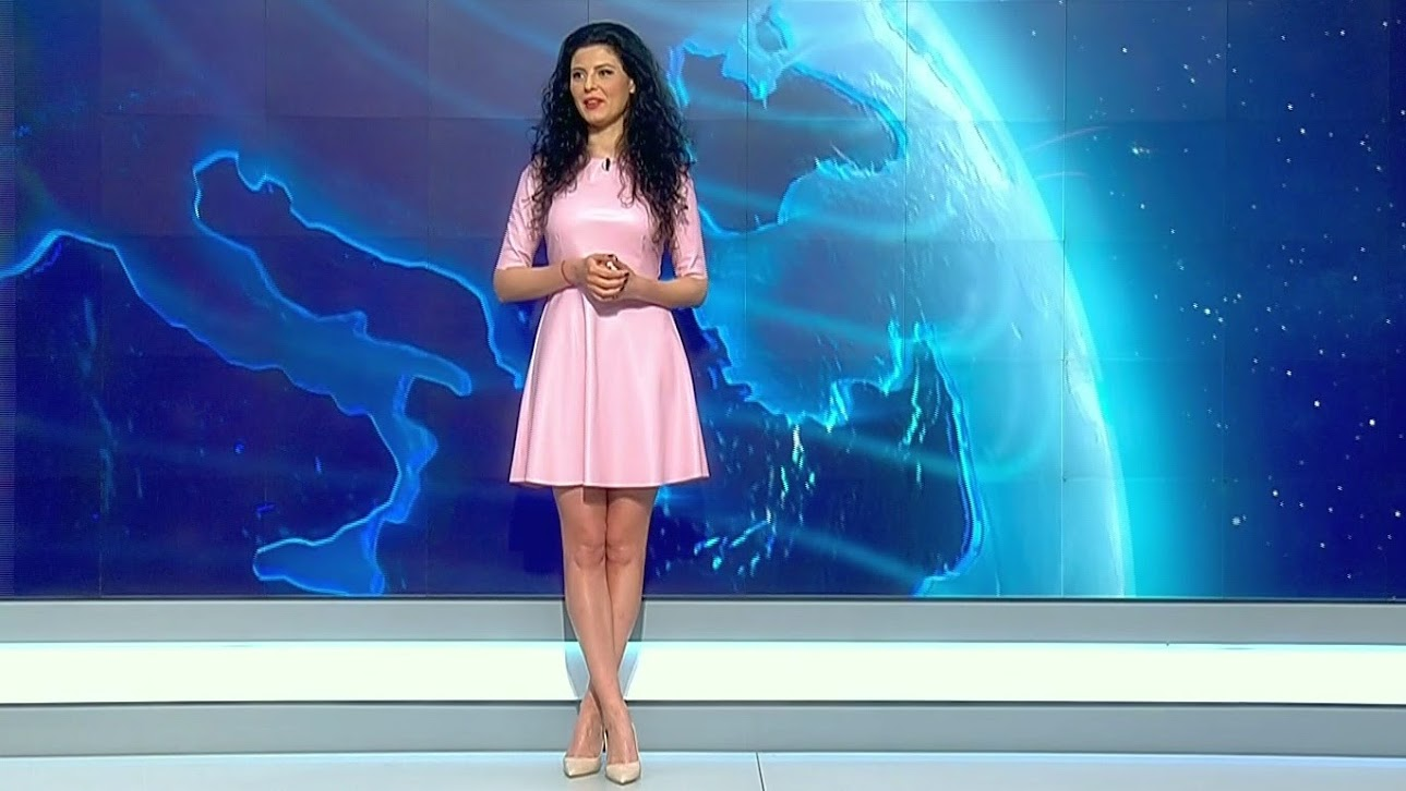 Ramona Pauleanu si prognoza meteo pe Pro TV
