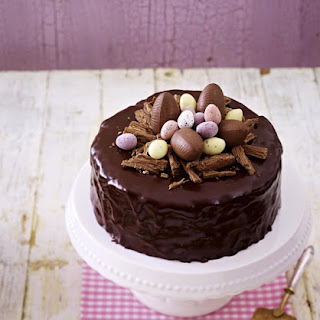 Chocolate Easter Cake.