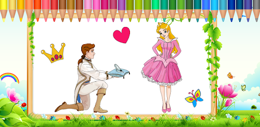 Princess Coloring Book for PC