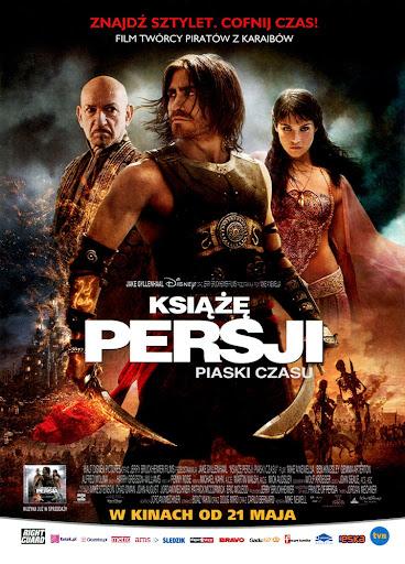 Przód ulotki filmu 'Książę Persji: Piaski Czasu'