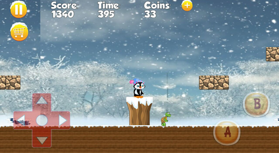 Penguin amazing adventure game - náhled
