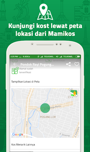 MAMIKOST, kost/room Finder App 2.5.4 screenshots 1