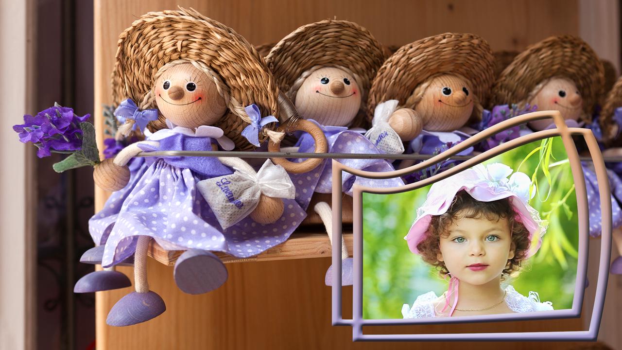 Gambar Wallpaper Anak Patung