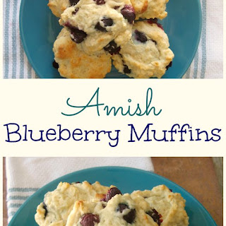 Amish Blueberry Muffins