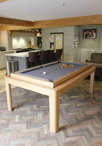 Stylish Kitchen Table that Revolves to Pool Table