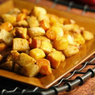 Roasted Root Vegetables with Chermoula.