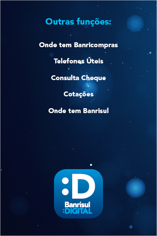 Banrisul: captura de tela