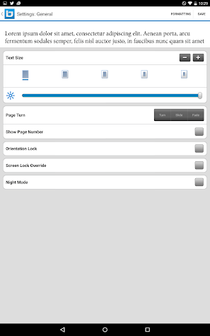 Bluefire Reader Screenshot