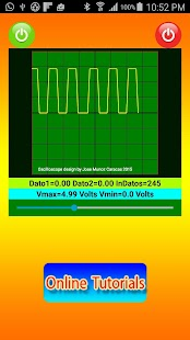 Bluetooth Oscilloscope- screenshot thumbnail