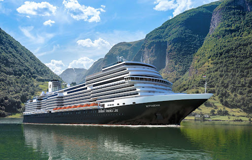 Book a cruise on Holland America's new ship Rotterdam to ports of call across Europe.