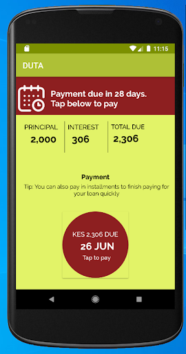 Duta - Personal Loans App screenshot 3