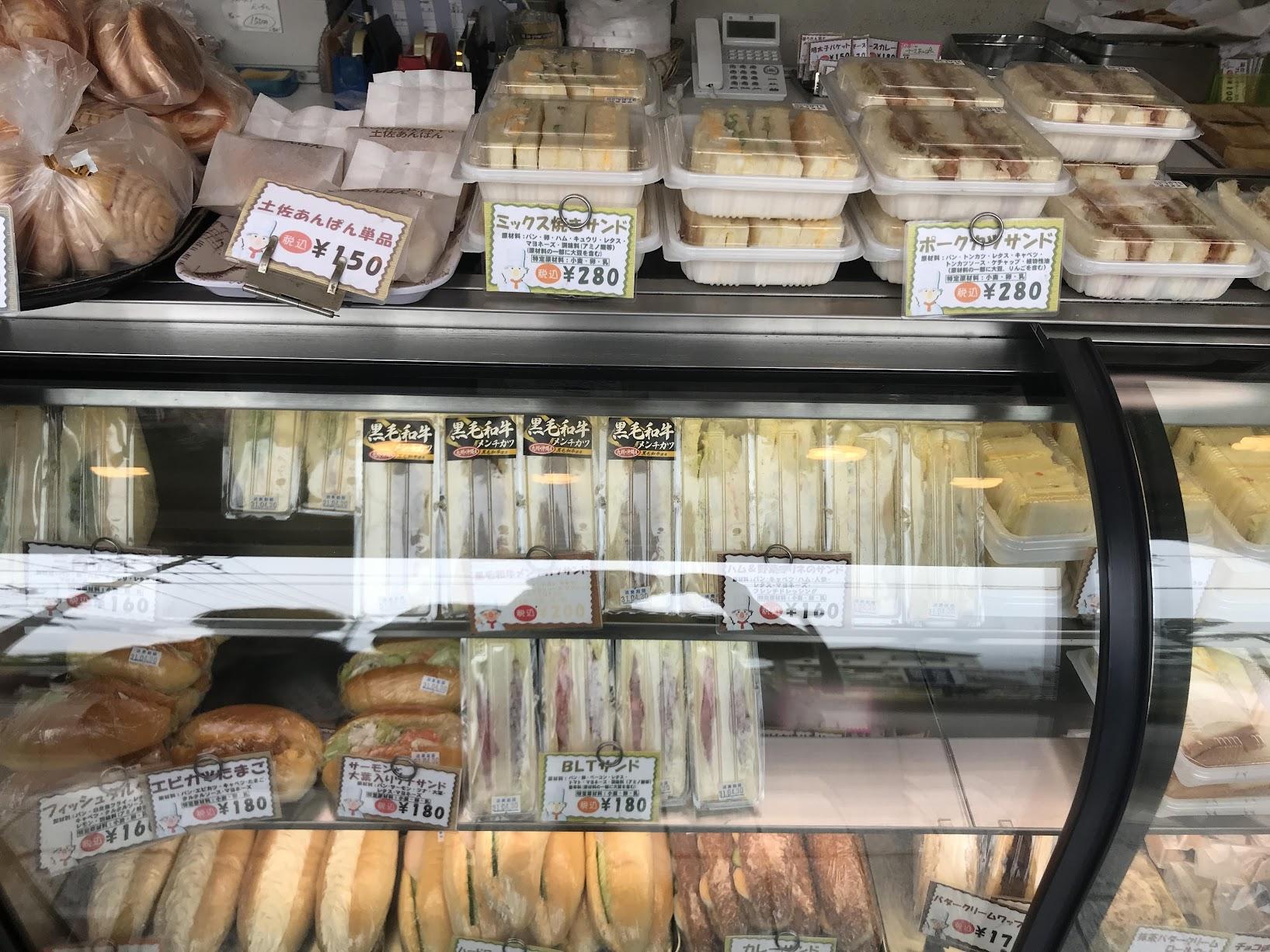 コミベーカリーのパン