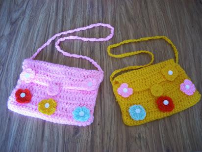 972455b4d3e6 Детские сумки вязаные крючком