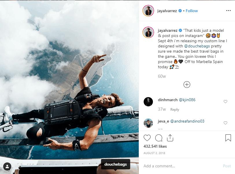Jay Alvarrez Instagram Gagner argent