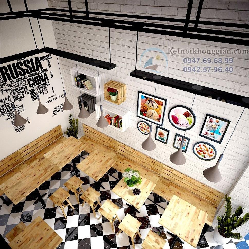 thiết kế quán cafe đẳng cấp mà chi phí lại thấp