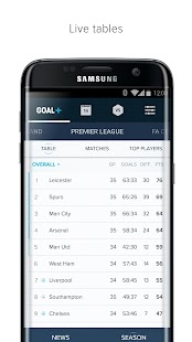 Goal+ for Samsung Screenshot