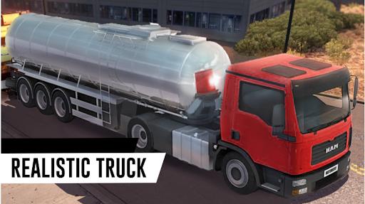 Truck Game Simulator - Oil Tanker Transporter 1.5 screenshots 1