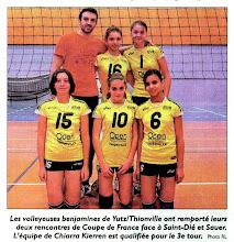 Photo: 06-11-2011 Benjamines coupe de France