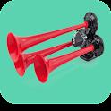 Virtual horn sounds icon