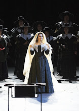 Photo: I PURITANI an der Wiener Staatsoper 828.2.2015). Olga Peretyatko. Foto: Michael Pöhn/Wiener Staatsoper