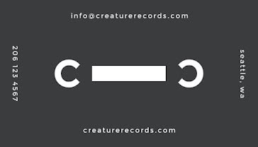 Cassette Tape Label - Business Card Template
