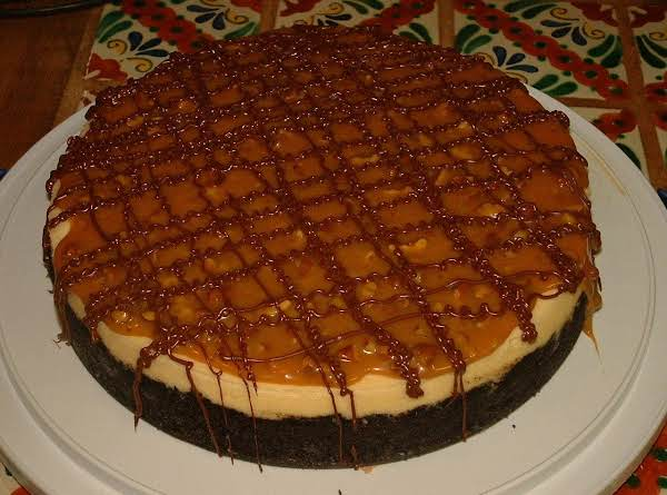 Spring Hill Ranch's Chocolate Turtle Cheesecake