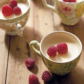 Honey Lemon Cream Puddings.